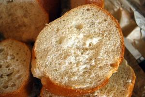 Fresh baked French bread