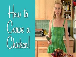 How To Carve A Chicken