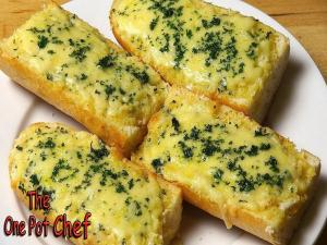 Easy Cheesy Garlic Bread