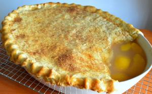 Southern Peach Cobbler Recipe With A Bottom Crust Detailed 1016519 By Cookingwithcarolyn