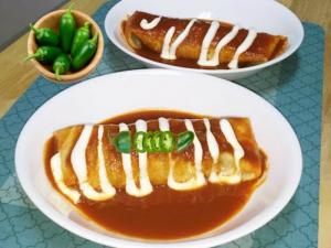 Homemade Smothered Burrito Challenge