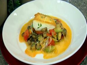 Alaskan Halibut With Ratatouille