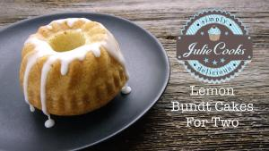 Lemon Bundt Cakes For Two 1018560 By Legourmettv