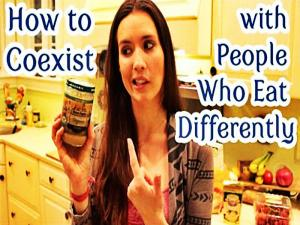 Coexisting With People Who Eat Differently