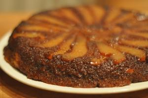 Pear Upside Down Cake
