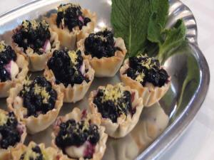 Wild Blueberry No Bake Cheesecake Bites