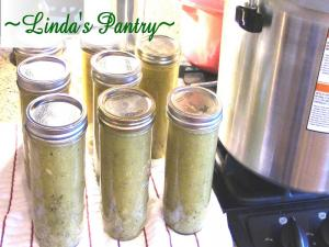Home Canned Lemon And Garlic Zucchini Soup With Lindas Pantry