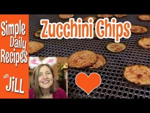 Zucchini Chips From The Dehydrator Test Run 1017056 By Simpledailyrecipes