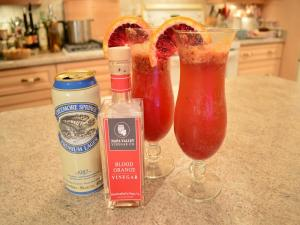 Blood Orange Beer Cocktails