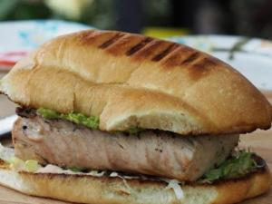 Grilled Baja Fish Sandwich