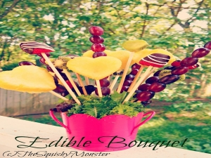 Edible Fruit Bouquet For Mothers Day