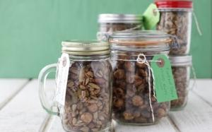 Pumpkin Spiced Nuts And Seeds