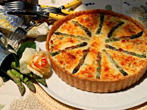 Asparagus And Kale Quiche