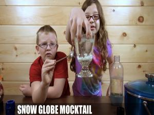 The Snow Globe Mocktail