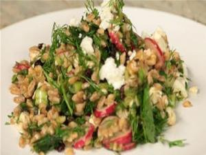 Farro With Radishes And Herb