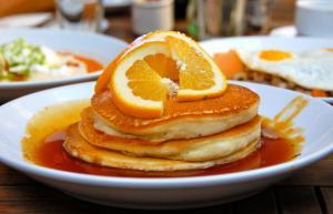 Orange Pancakes