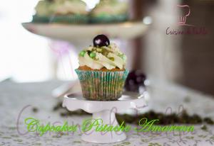 Cupcakes Pistache Amarena 1017763 By Cuisinedefadila