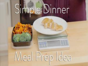 Easy Meal Prep Dinner Idea