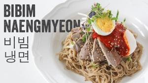Spicy Cold Buckwheat Noodles Bibim Naengmyeon Recipe Season 4 Ep 14 1016143 By Chefjulieyoon