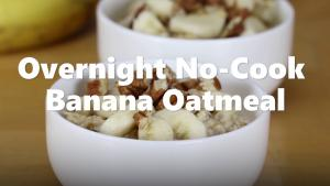 Overnight Banana Oatmeal 1018959 By Relish