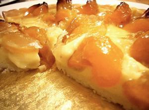 Apricot Custard Tart
