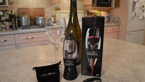 Everything Wine Aerator And 4 Wheel Foil Cutter Gift Set What I Say About Food 1019580 By Cookingwithkimberly