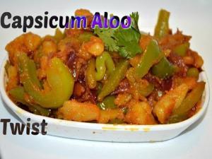 Capsicum Aloo