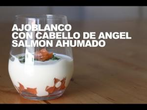 Ajoblanco De Cabello De Angel Con Salmon Ahumado 1019878 By Dicestuqueno