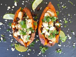 Dinner Recipe Mexican Style Stuffed Sweet Potato 1018001 By C 4 Bimbos