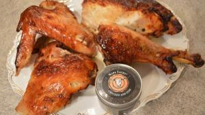 How To Roast Napa Jacks Buttermilk Brined Turkey Pieces 1019557 By Cookingwithkimberly