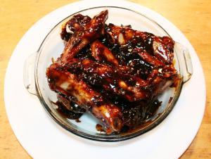 Country style pork spare rib recipe