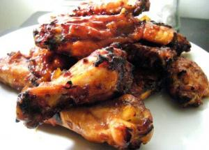 Broiled Hot Wings