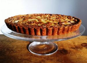 Coconut Walnut Tart