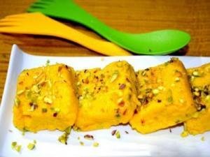 Mango Barfi