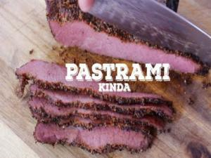 Homemade Pastrami