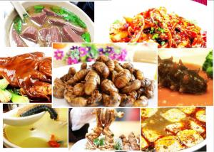 Chinese Food Delicacies