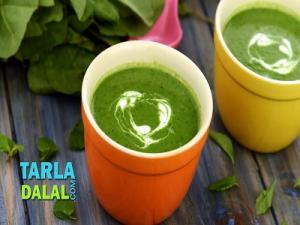 Spinach Mint Soup