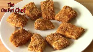 Oven Baked Fish Nuggets One Pot Chef