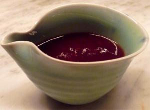 Currant Enhanced Sweet And Sour Sauce