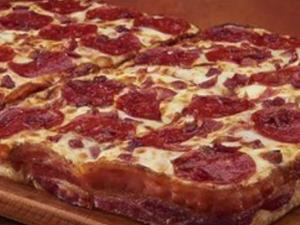 Little Caesars Unveils Bacon Wrapped Pizza Crust