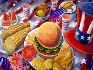 4 Th Of July Feast