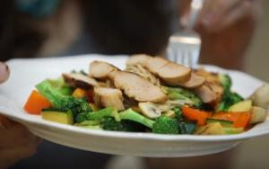 Simple Chicken And Vegetable Stirfry