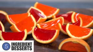Orange Wedge Jello Shots 5 Ingredient Desserts