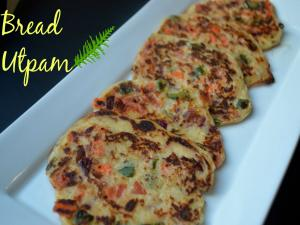 Bread Utpam Healthy Instant Breakfast Recipe