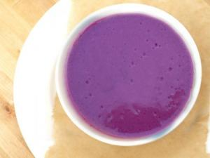 Cold Blueberry Soup