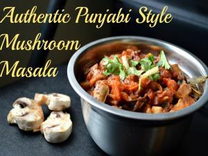 Mushroom Masala Indian Curry