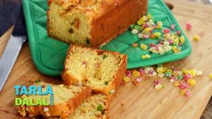 Orange And Tutti Frutti Loaf Recipe In Hindi 1018309 By Tarladalal