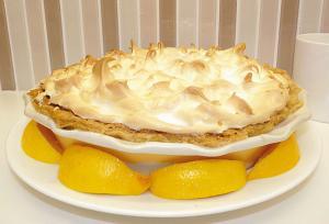 Lemon Meringue Pie With Homemade Meringue