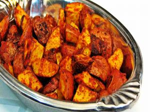 Smoked Paprika Roasted Baby Red Potatoes