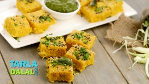 Cabbage Dhokla